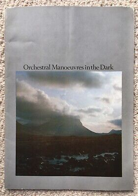 OMD 1980 Tour Programme - Orchestral Manoeuvres In The Dark