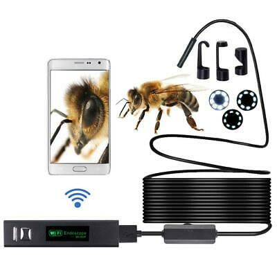 HD1200P Waterproof WIFI Inspection Mini Cam Borescope Snake Video Camera SP