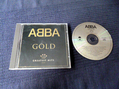 CD Abba Gold Best Of Greatest Hits Collection Mamma Mia Dancing Queen Waterloo