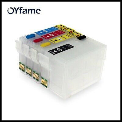 OYfame For Epson 252xl 252 T2521 T252 T2521XL refill cartridge for epson WF-3620
