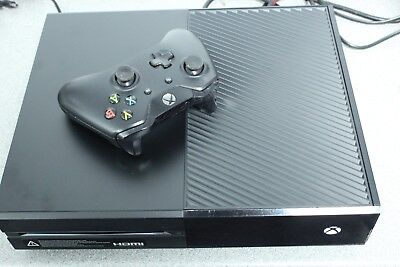 Microsoft Xbox One 500GB Black Console Bundle - Fully Working - Free Delivery