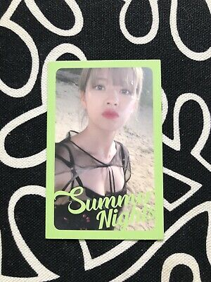 TWICE Summer Nights 2nd Special Album Official Photocard - JEONGYEON