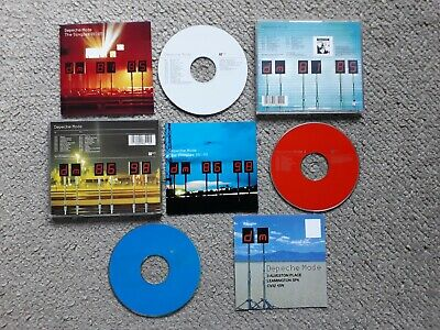 Depeche Mode-The Singles 81-85 & 86-98 CD's X3