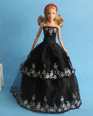 Wedding Dress for Barbie Doll Clothes Evening Dresses Party Gown Outfits Toy
