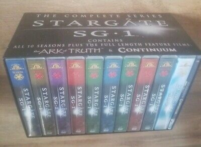 Stargate Sg1 Complete Series 1 - 10 Dvd Box Set Plus 1 Film Collector Set