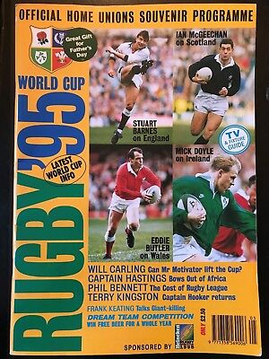 9568 - Rugby World Cup 1995 RWC - Flying Springbok Programme Guide