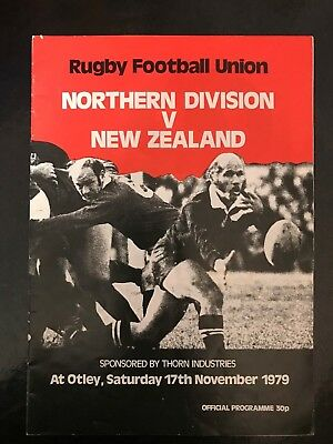 3596 - ALL BLACKS 1979 tour: Northern Division v New Zealand Rugby Programme