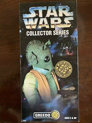 Greedo Star Wars Collector Series by Kenner