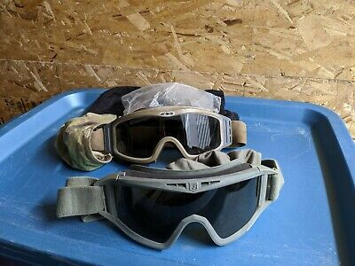 ESS & Revision Military Tactical Vented Safety Eye Wear Goggles