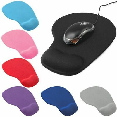 Mouse Mat with Gel Wrist Support PC Gaming Laptop Computer Macbook Anti-Slip