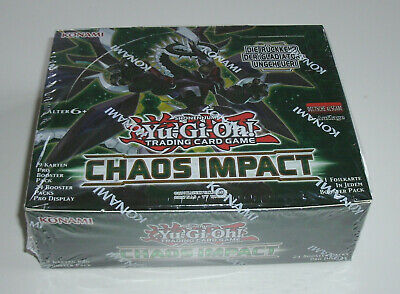 Yu-Gi-Oh - Chaos Impact - Display - NEU & OVP - Deutsch