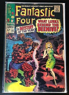 Fantastic Four #66  Marvel Silver Age Comic Book  Key - Adam Warlock (Him)