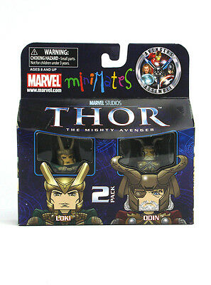 Marvel Minimates Loki & Odin Series 39 Thor Mighty Avengers Figures Asgard New