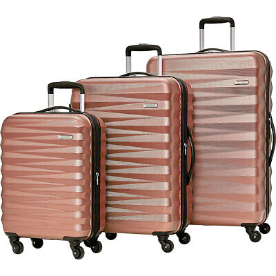 American Tourister Triumph NX 3 Piece Expandable Luggage Set NEW