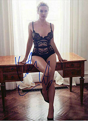 """KATE WINSLET 8/"""" X 10/"""" GLOSSY PHOTO REPRINT"""