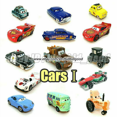 Mattel Disney Pixar Cars Lightning McQueen 1:55 Metal Diecast Vehicles Toy Loose