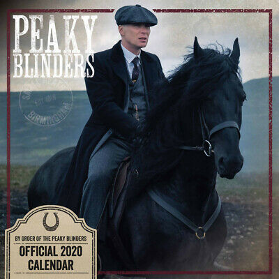 Peaky Blinders Official 2020 Calendar (Paperback), Stationery, Brand New