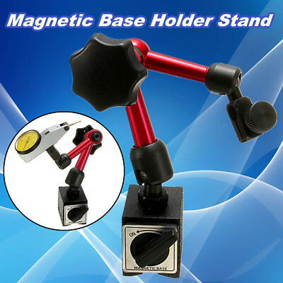 Universal Flexible Magnetic Metal Base Holder Stand Dial Test Indicator Tool !