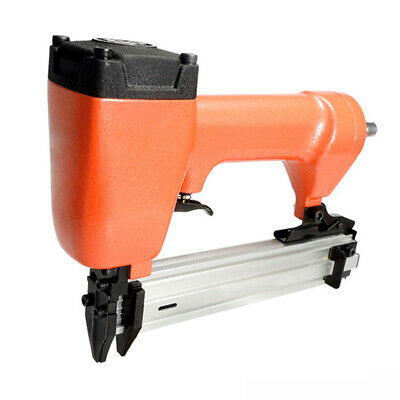 Air Nailer Gun Straight Nail Pneumatic Nailing Stapler Furniture Wire Stapler