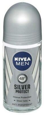 Nivea Deoroller For Men - Silver Protect 50 ml