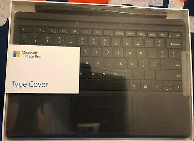 Microsoft Surface Pro Type Cover Keyboard Model 1725 Black FMM-00001