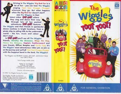 The Wiggles Toot Toot  Vhs Video Pal~ A Rare Find