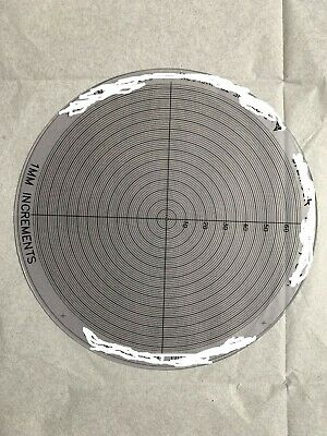Concentric Circles Overlay Chart 1Mm Pitch