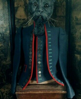 Antique/Vintage Royal Ballet Theatre Costume/Carnival Tailored Jacket-Waistcoat