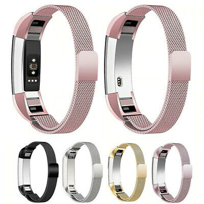 For Fitbit Alta Alta HR Magnetic Milanese Wrist Band Stainless Steel Watch Strap