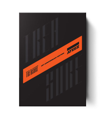 "ATEEZ ""TREASURE EP.FIN : All To Action"" 1st ANNIVERSARY EDITION - Photobook + CD"