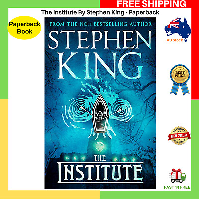 The Institute By Stephen King Paperback Book BRAND NEW | FAST AND FREE SHIPPING