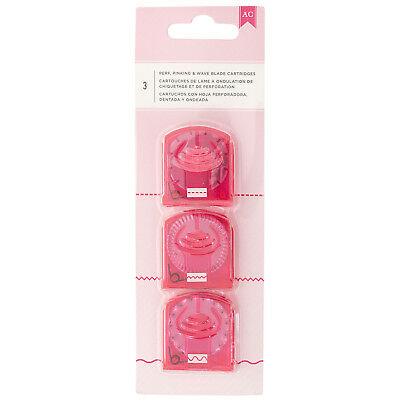 American Crafts Cartridge Trimmer Blades - Sharp Decorative Tools - Pack of 3