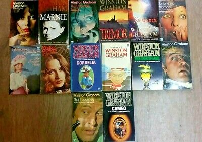 14 MARVELOUS BOOKS by WINSTON GRAHAM ** FREE UK POST ** PAPERBACK