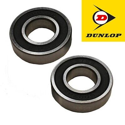 TWO iCANDY PEACH JOGGER FRONT OR REAR WHEEL BEARINGS, DUNLOP RUBBER SEALED