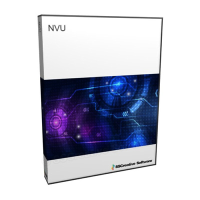 NVU Website Design Software HTML Web Page Creator Publishing WYSIWYG for Desktop