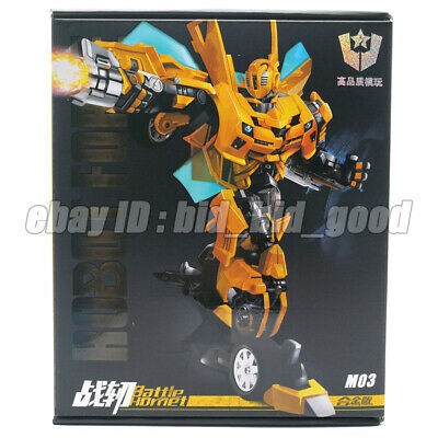 WEI JIANG M03 Trenches Bumblebee Alloy enlargement Transformers toy in stock