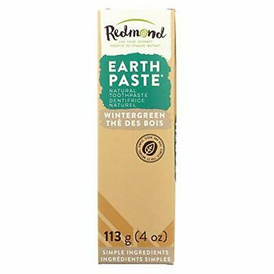 Redmond Trading Company, Earthpaste, Amazingly Natural Toothpaste, Wintergreen,