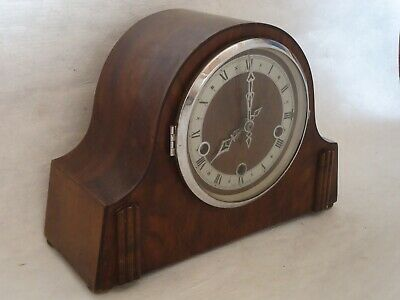 1940's Art Deco Chiming Mantle Clock. Spares Or Repair