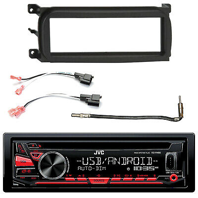 In-Dash CD AM/FM USB AUX Stereo, Dash Kit , Speaker Connector, Antenna Adapter