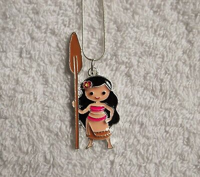 MOANA Movie Inspired Large Charm NECKLACE