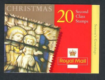 GB Postage - Booklet of 20 x 2nd class Christmas Stamps, FV £12.20