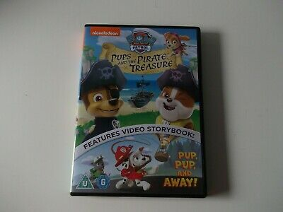 Paw Patrol Pups And The Pirate Treasure Dvd