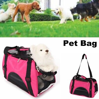Small Pet Carrier Tote Bag Dog Cat Puppy Nylon Handbag Travel Airline Approved