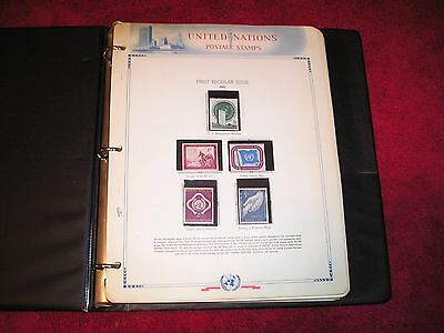 UNITED NATIONS (UN) Stamp Collection 1951 - 1972 Complete MNH Including #38