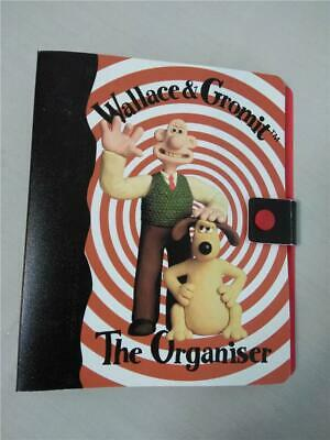 Wallace & Gromit*Organizer*Day Planner*Diary*Address*Note Book*6Ring Binder 1989
