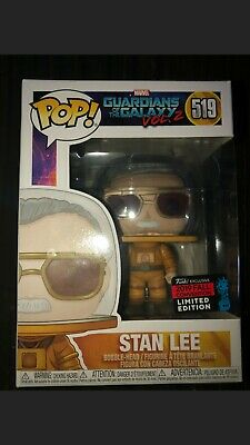 Funko POP! Marvel: Stan Lee Cameo Astronaut NYCC shared Exclusive 2019