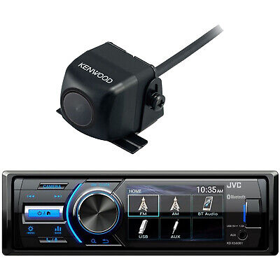 Marine MotorSports Bluetooth Stereo Receiver w/ Rearview Cam Input, Back Up Cam