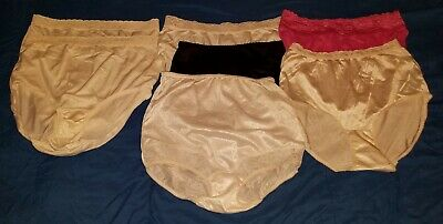 FREE SHIPPING Vintage Panty Lot of 7 Panties Size Medium
