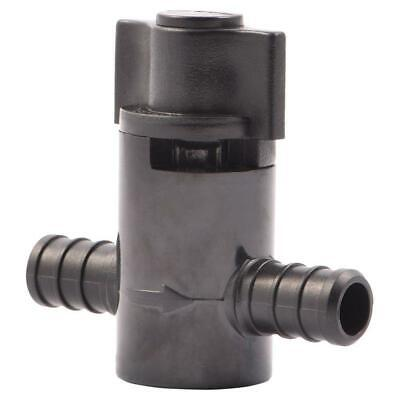 "Ball Valve Barb x Barb Connector Water Valves Fitting Plastic PEX 1/2"" (2-Pack)"