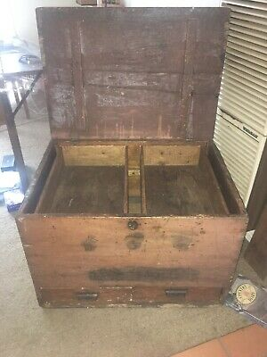 Vintage Timber Tool Trunk